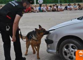 """alt=""""unidad canina policía Ribera"""""""