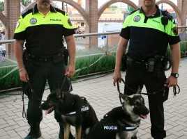 """alt=""""Unidad canina Leganes"""""""
