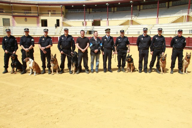 """alt=""""perros policía local Torremolinos"""