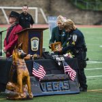 en memoria de un perro policía