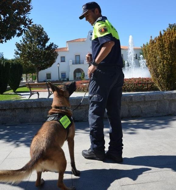 primer perro policía